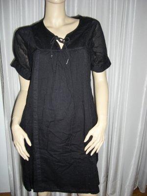 Babydoll-jurk zwart