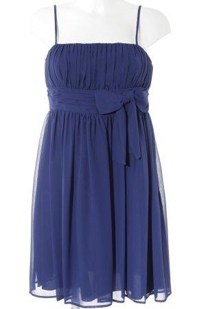 Vera Mont A-Linien Kleid blau Elegant