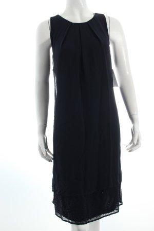 Vera Mont A-Linien Kleid dunkelblau klassischer Stil