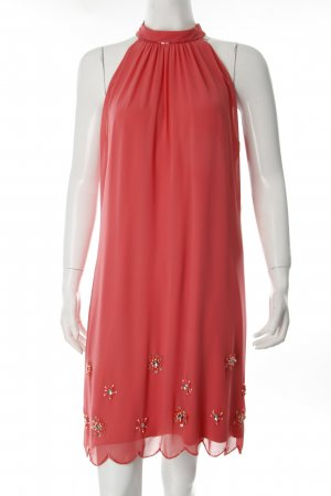 Vera Mont A Line Dress bright red Sequin ornaments