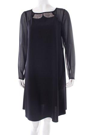 Vera Mont A-Linien Kleid schwarz klassischer Stil