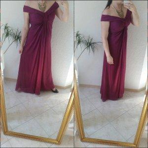 Vera Mont Abendkleid Beere 38