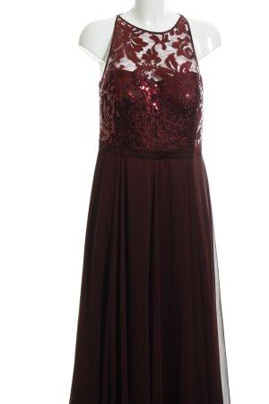 Vera Mont Abendkleid bordeauxrot Elegant