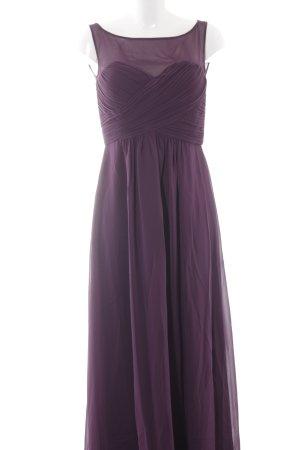 Vera Mont Abendkleid braunviolett Elegant