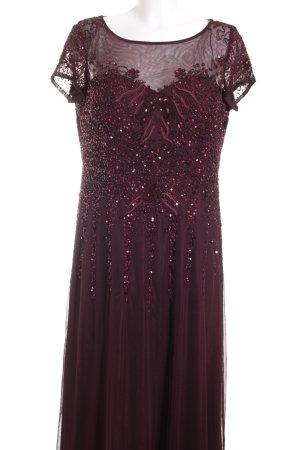 Vera Mont Abendkleid brombeerrot Elegant