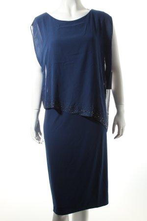 Vera Mont Abendkleid dunkelblau klassischer Stil
