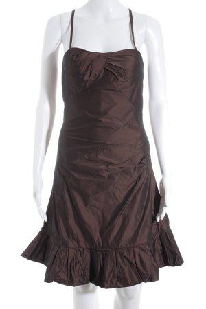 Vera Mont Abendkleid dunkelbraun Elegant