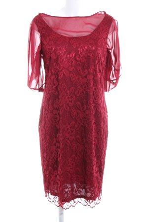 Vera Mont Abendkleid dunkelrot Elegant