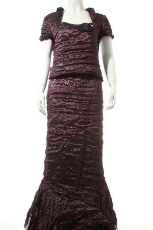 Vera Mont Robe de soirée violet foncé élégant