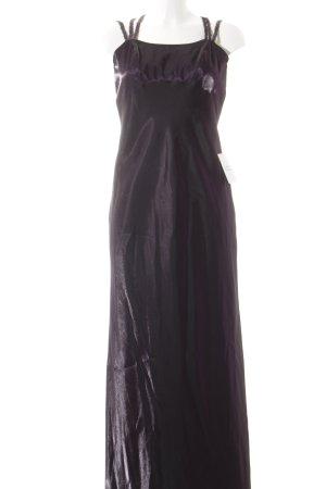 Vera Mont Abendkleid dunkelviolett Glanz-Optik