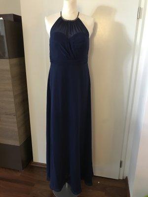 Vera Mont Abendkleid Gr.40 blau NEU Kleid Ballkleid lang