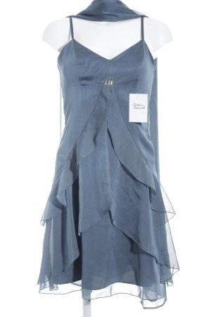 Vera Mont Abendkleid graublau Elegant