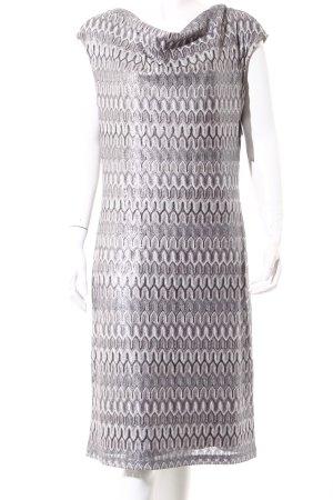 Vera Mont Abendkleid hellgrau-grau Casual-Look
