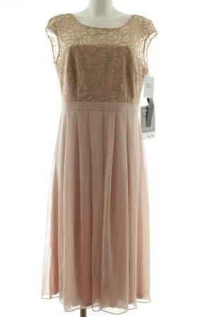 Vera Mont Abendkleid hellrosa-goldfarben Elegant