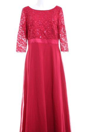 Vera Mont Abendkleid himbeerrot Elegant
