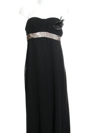 Vera Mont Abendkleid schwarz-creme Elegant