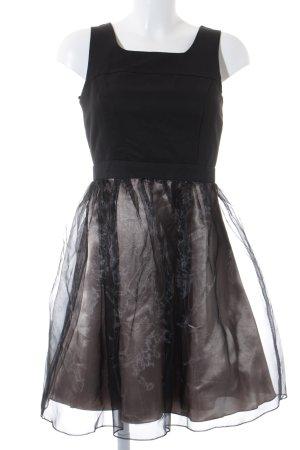 Vera Mont Abendkleid schwarz-goldfarben Elegant