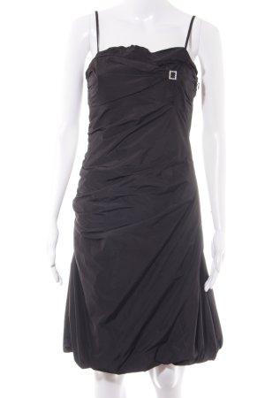 Vera Mont Abendkleid schwarz Schmuck-Applikation