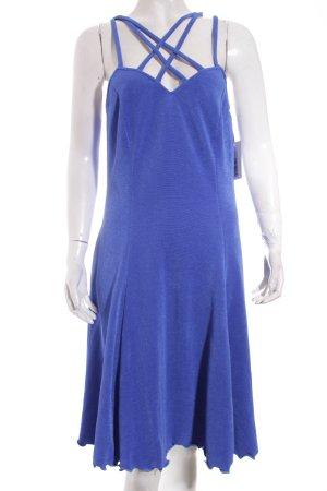 Vera Mont Abendkleid stahlblau Casual-Look