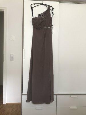 Vera Mont Robe de soirée gris brun tissu mixte