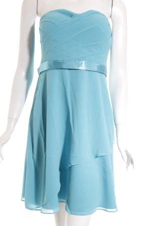 Vera Mont Robe de soirée turquoise élégant