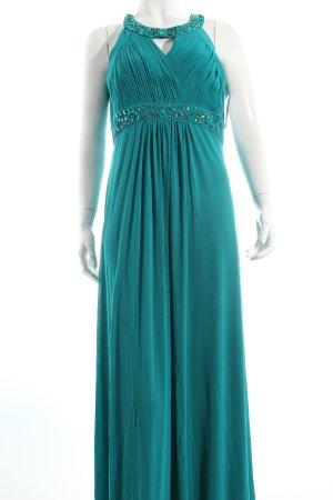 Vera Mont Abendkleid türkis extravaganter Stil