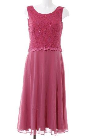 Vera Mont Abendkleid rosa-magenta Elegant