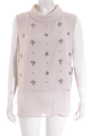 Vera Mont ärmellose Bluse hellbeige Elegant