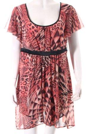 Vera Mont Babydollkleid dunkelgrau-rosa Mustermix Street-Fashion-Look