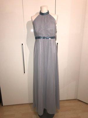 Vera Mont Ballkleid Gr.32 Gr.XXS blau NEU Glitzer Abendkleid Kleid