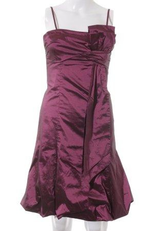 Vera Mont Balloon Dress purple elegant