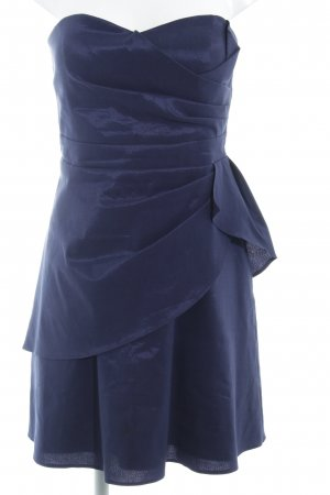 Vera Mont Vestido bandeau azul oscuro elegante