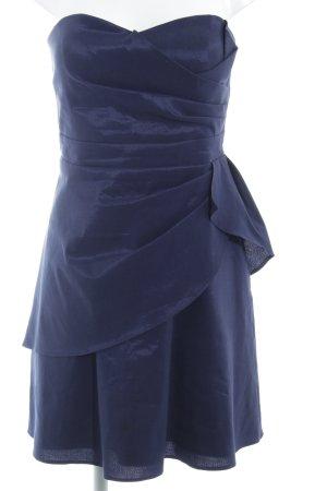 Vera Mont Bandeau Dress dark blue elegant