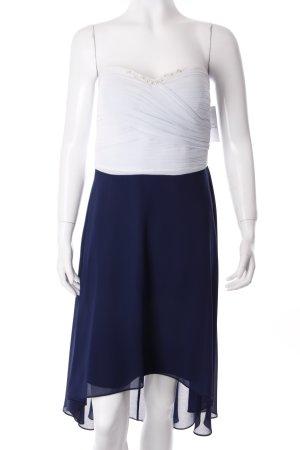 Vera Mont Abito a fascia blu scuro-azzurro Ornamenti con lustrini