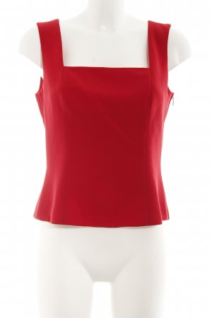 Vera Mont Basic topje donkerrood casual uitstraling