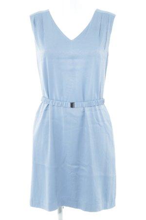 Vera Mont Bleistiftkleid blau Allover-Druck Casual-Look