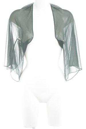 Vera Mont Bolero dunkelgrün Street-Fashion-Look