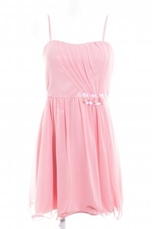 Vera Mont Vestido bustier rosa estilo romántico