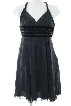 Vera Mont Vestido bustier negro-gris antracita elegante