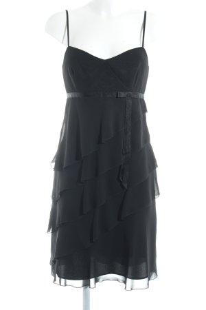 Vera Mont Chiffonkleid schwarz Elegant