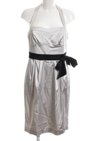 Vera Mont Cocktailkleid silberfarben-schwarz Elegant