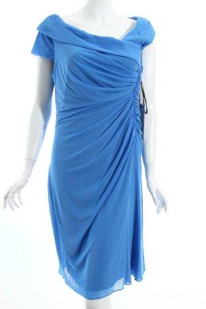 Vera Mont Cocktailkleid blau Perlenverzierung