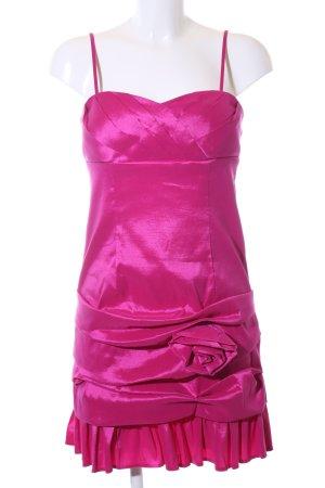 Vera Mont Cocktailkleid pink Glanz-Optik
