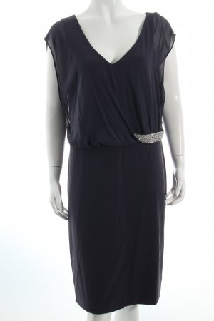 Vera Mont Cocktailkleid dunkelblau klassischer Stil