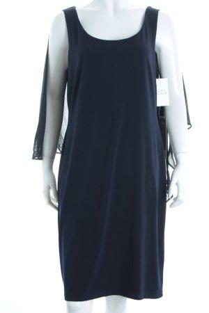 Vera Mont Cocktailkleid dunkelblau Lagen-Look