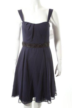 Vera Mont Cocktailkleid dunkelblau-schwarz Elegant