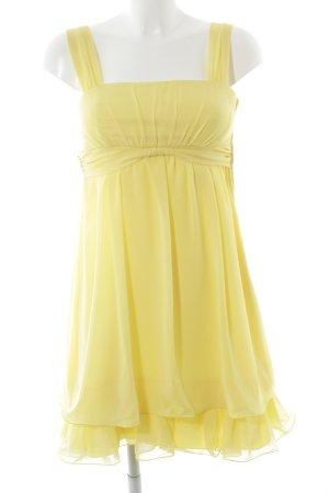 Vera Mont Cocktailkleid gelb Elegant