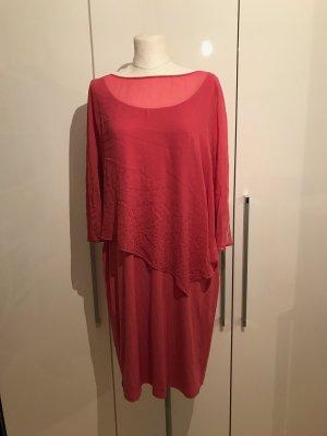 Vera Mont Cocktailkleid Gr.44 pink mit Strassteinen Kleid