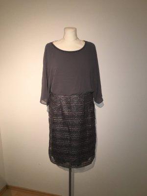Vera Mont Cocktailkleid Gr. 46 grau Kleid
