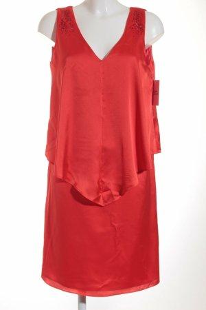 VERA MONT Cocktailkleid hellrot Elegant Damen Gr. DE 40 Kleid